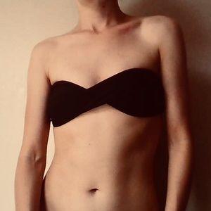 Victoria's Secret Twist Bandeau Swim Top